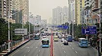 Street view from Shenzen