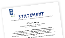 ISO 26000 Statement NCAB Group