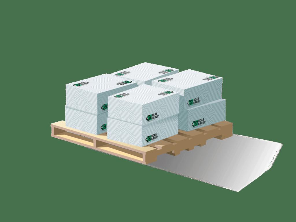 Illustration av NCABs lådor med tillförlitliga mönsterkort   NCAB Group