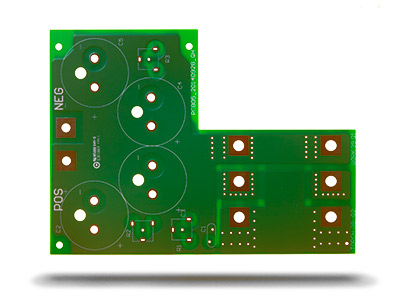 Double sided 2L pcb