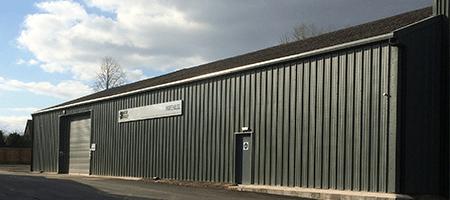 NCAB Group UK new warehouse.