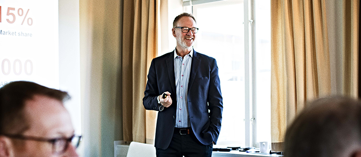 Hans Ståhl, CEO NCAB Group