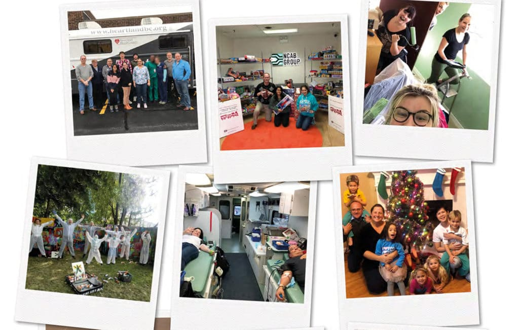 Snapshots from NCAB Group Give Back Day