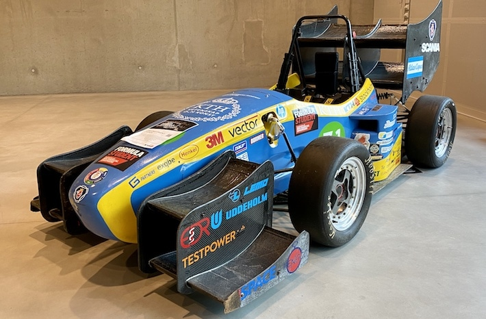 KTH Formula Student car from 2014/15.