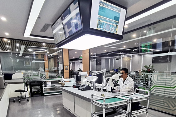 Inspection of a PCB microsection | NCAB Group