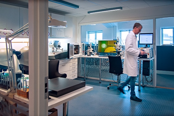 NCAB Group Nordic PCB lab in  Sweden